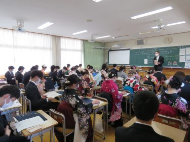 2021.3卒業ホームルーム2