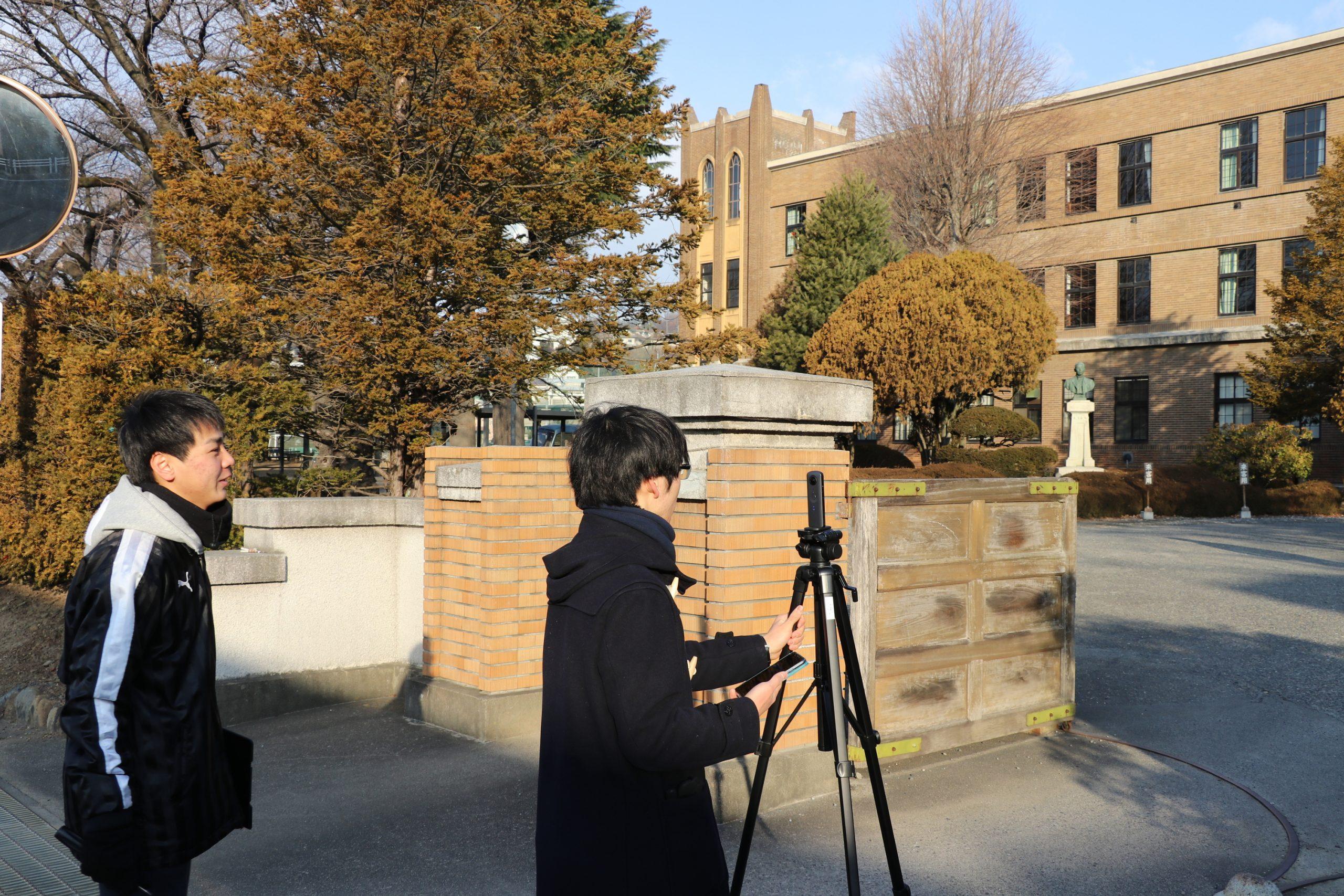 正門の撮影